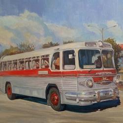 Bus ZIS-127 Tallinn-Leningrad